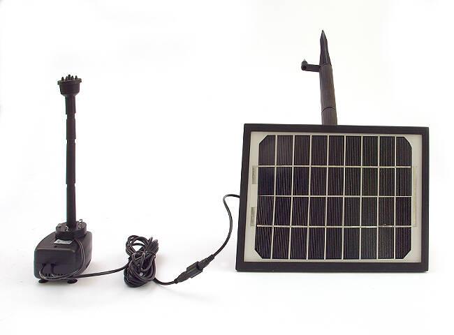 Pompa Solarna Do Oczka Wodnego Wraz Z Zestawem Dysz