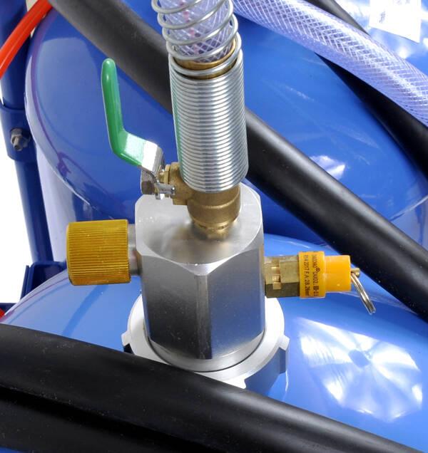 Zaawansowane Piaskarka do czyszczenia sodowania sodowarka 2w1 LK85