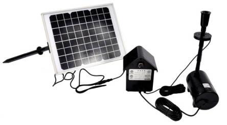 Pompa Solarna Do Oczka Wodnego Z Oświetleniem Led