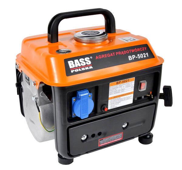 Unikalne Prądnica generator agregat prądotwórczy 1000W Bass PC62
